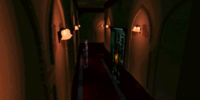 U-shaped corridor