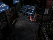 Resident Evil 3 background - Uptown - boulevard l2 - R11E0B