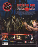 Resident Evil Dead Aim - Official U.S. PlayStation Magazine - Issue 69 June 2003 - back cover advertisement