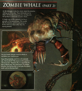 Revelations BradyGames guidebook - Zombie Whale profile