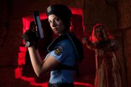 Julia Voth as Jill Valentine 16