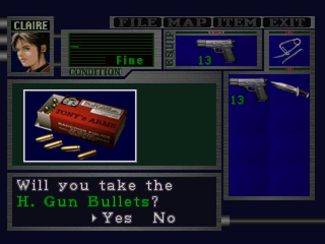 File:RE2 H Gun Bullets pickup 01.png