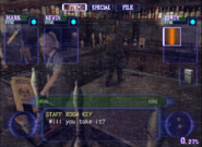 Resident Evil Outbreak items - Staff Room Key 01