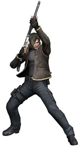 File:Leon - Biohazard 4 - Jacket - Shotgun.jpg