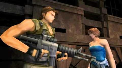 Resident Evil 3 Nemesis cutscenes - Escaping from the basement