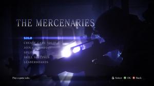 The Mercenaries RE6