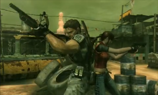 File:Mercenaries 3D - Chris and Claire.png
