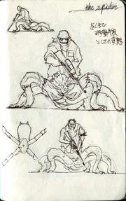 Noga-Trchanje concept art 2