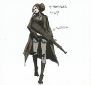 BIOHAZARD REVELATIONS 2 Concept Guide - TerraSave Boss-style Claire