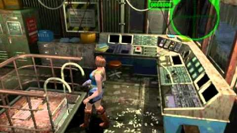 Resident Evil 3 Nemesis cutscenes - Emergency Level D