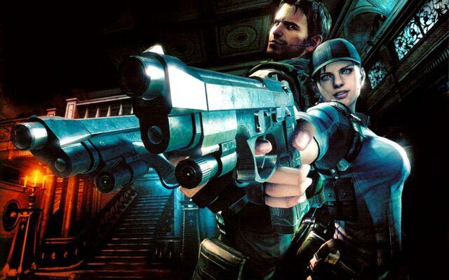 File:Resident Evil 5 Gold Edition - Jill and Chris wallpaper 3.jpg
