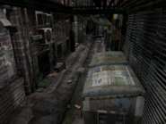 Resident Evil 3 background - Uptown - boulevard c1 - R10302