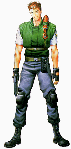 File:RE1 Chris Art.png