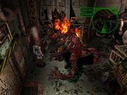 Nemesis tries to regenerate