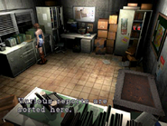 Resident Evil 3 Nemesis screenshot - Uptown - Warehouse office examine 01