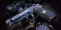 Beretta 92F Custom 'Samurai Edge'
