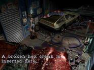 Broken hex crank