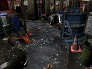 Resident Evil 3 background - Uptown - boulevard h1 - R10307