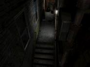 Resident Evil 3 background - Uptown - warehouse back alley c2 - R11D02