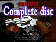 Biohazard complete disc - title screen