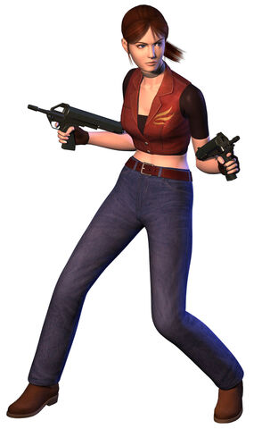 File:Resident Evil CODE Veronica - Claire Redfield render (front).jpg