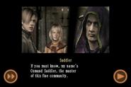 RE4 mobile edition - Rescue Ashley cutscene 5 part 4