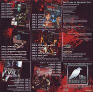 Ten Years of Resident Evil The Official Soundtrack Manual 2