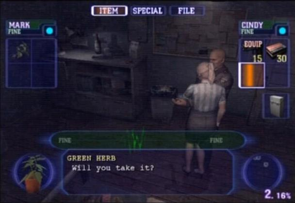 File:Resident Evil Outbreak screenshot.jpg