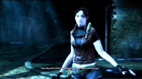 Resident Evil Operation Raccoon City all cutscenes - Meeting Claire Redfield (Harley, Willow)
