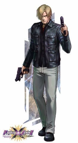 File:Leon S. Kennedy - Project X Zone 2 artwork.jpg