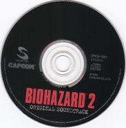 Biohazard 2OST disc