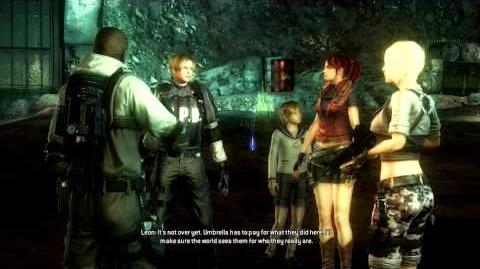Resident Evil Operation Raccoon City all cutscenes - Success! (Shona) Ending