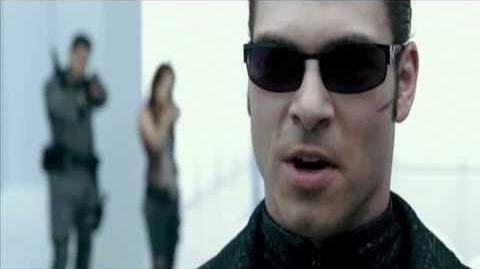 Resident evil afterlife Albert Wesker Vs Chris and Claire Redfield and Alice *Full Fight HD*