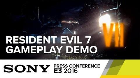 Resident Evil 7 Gameplay Demo - E3 2016 Sony Press Conference