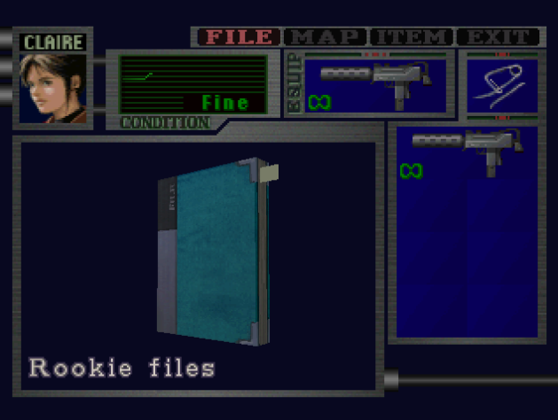 File:RE2 Rookie files location.png