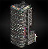 Building 1 (lanshiang) diorama