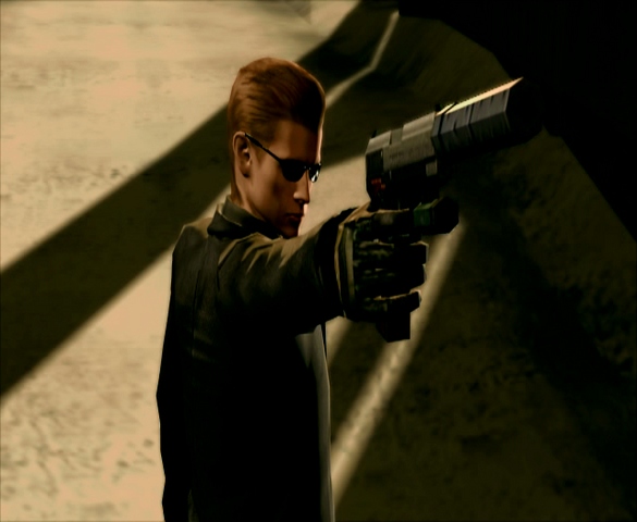 File:Dark Legacy-1-Albert Wesker arrives.png