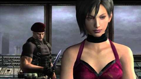 Resident Evil 4 all cutscenes - Chapter 5-3 scene 1