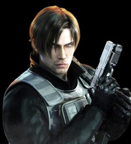 Resident Evil Damnation - Leon Scott Kennedy render