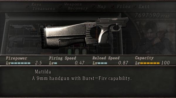 Matilda Resident Evil Wiki Fandom Powered By Wikia