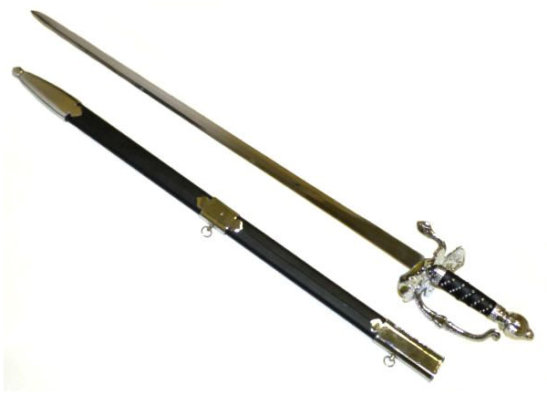 Classic 18th Century Small Sword - Museum Replicas