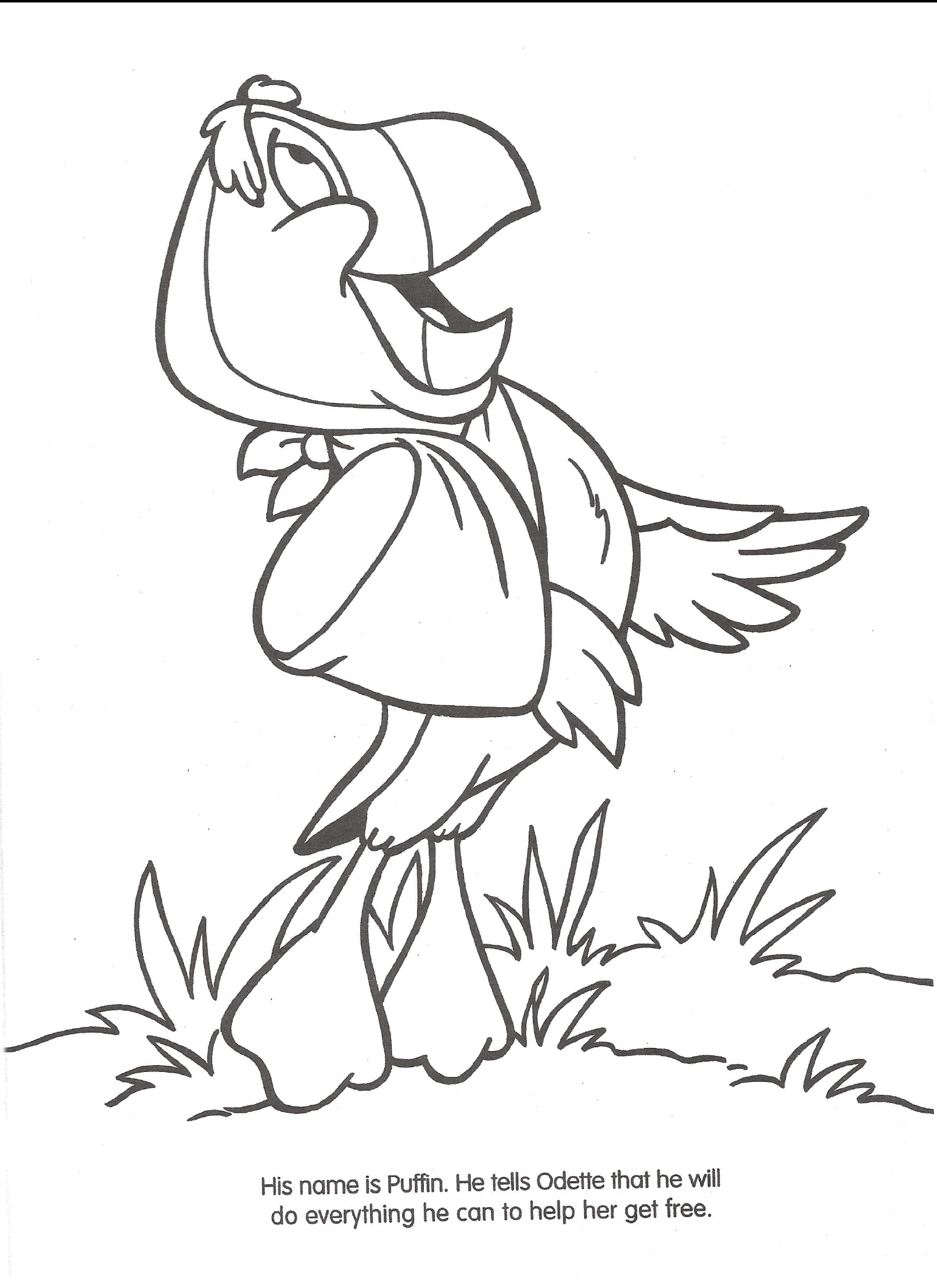 Swan princess coloring pages free - File Swan Princess Official Coloring Page 16 Png