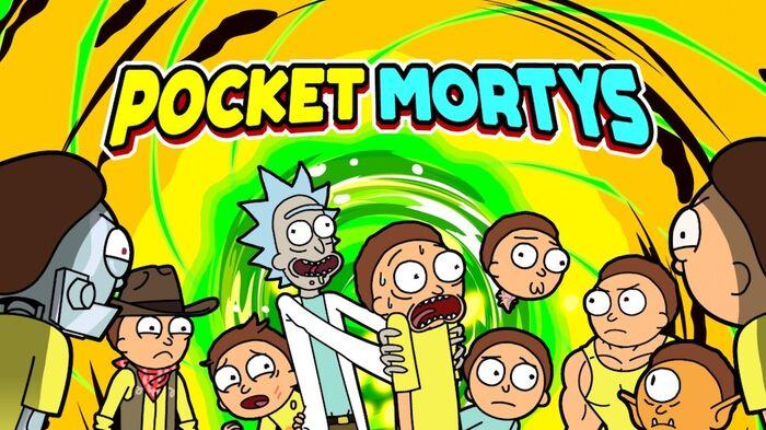 Pocket Morty Slide