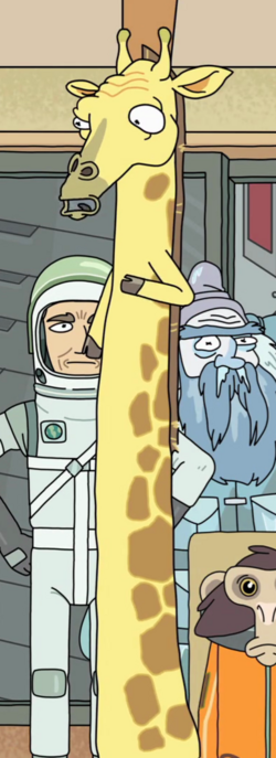 Reverse Giraffe Entire Body