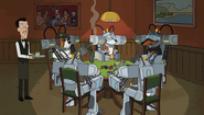 S1e2 dogs playing poker