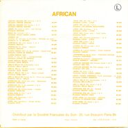 African 90.923 B