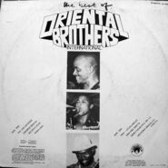 Oriental Brothers DWAPS2146 back