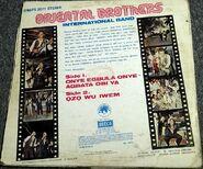 Oriental Brothers - onye egbula onye agbata obi ya (Afrodesia DWAPS 2071, 1979) Trasera