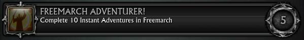 Freemarch Adventurer! 10
