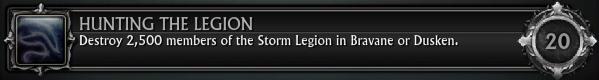 Hunting the Legion